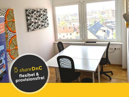 Schönes möbliertes Tageslichtbüro mit tollem Weitblick in Ehrenfeld - All-in-Miete