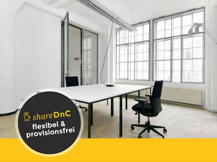 Möblierte Arbeitsplätze in schöner Loft Büroetage in Kreuzberg - All-in-Miete