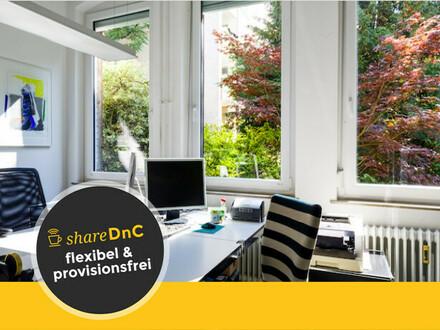 Schöne, helle Büroräume in Altbau mit Garten und Lagerräumen - All-in-Miete