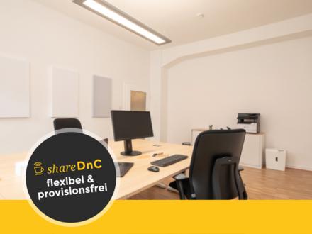Arbeitsplätze in kleinem Coworking Space mitten in Hannover - All-in-Miete