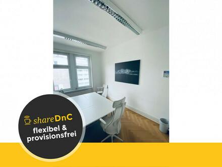 Zwei helle Büroräume in schickem Altbau - All-in-Miete