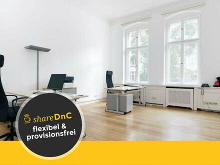Schöne Büroräume im Altbau in Charlottenburg - All-in-Miete
