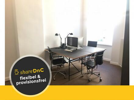 Zwei schöne Büroräume in renoviertem Berliner Zimmer - All-in-Miete