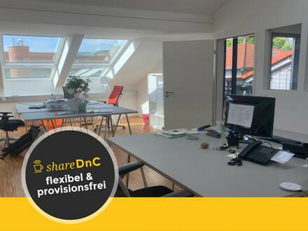 Sonnige Bürofläche mit Dachterrasse im Löwenhof im Herzen Bornheims - All-in-Miete