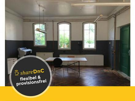 Büroplätze im Herzen Potsdams - Atelier mit Industriecharme - All-in-Miete