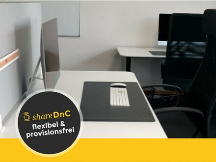 Flexible Arbeitsplätze in Büro mit Tonraum im Zentrum - All-in-Miete
