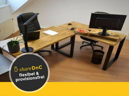 Zwei Büroräume, auch separat zu vermieten oder Arbeitsplätze einzeln - All-in-Miete