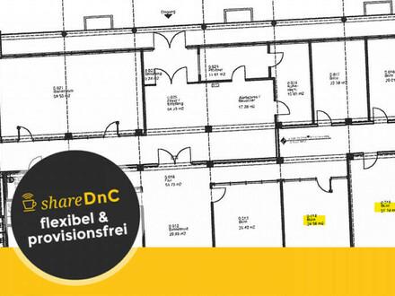 Großer Büroraum inklusive Nutzung Meetingraum, Empfang, Infrastruktur - All-in-Miete