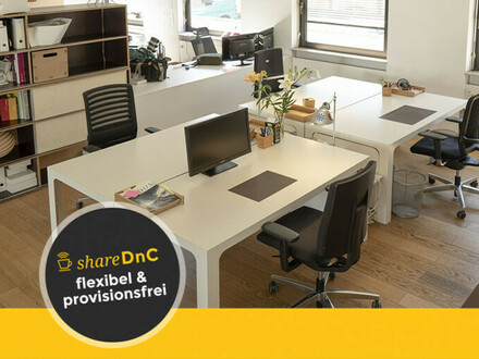 Büroräume in Darmstadt in inspirierendem Umfeld - All-in-Miete