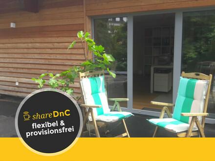 Wunderschönes und neues Büro in modernem nachhaltigen Holzhaus - All-in-Miete