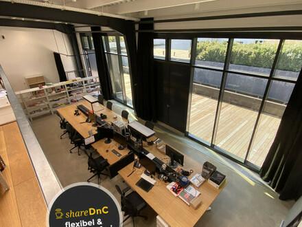 Kreatives Hinterhof-Loft in Werkhalle - All-in-Miete
