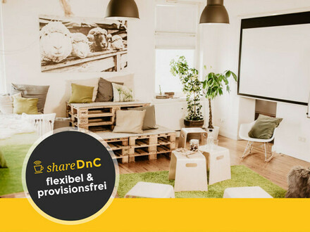Shared Office & Coworking Space mit Blick über Bielefeld - All-in-Miete
