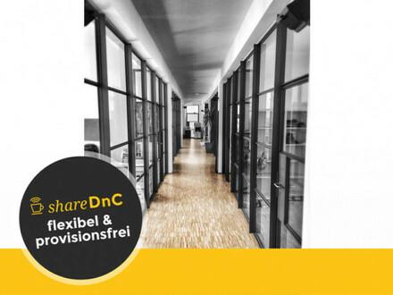Büroräume unterschiedlicher Größe mit Ateliercharakter - All-in-Miete