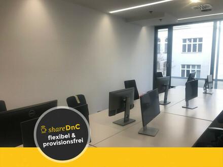 Neue Büroräume komplett ausgestattet in moderner Coworking Area - All-in-Miete