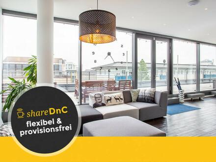 Flexible Büros - super zentral am Hbf - mit 120qm Dachterasse - All-in-Miete