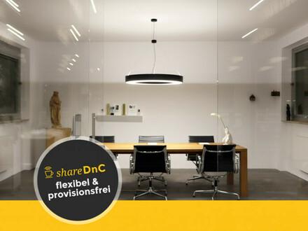 Arbeitsplatz in Büroraum mit Loftcharakter - All-in-Miete