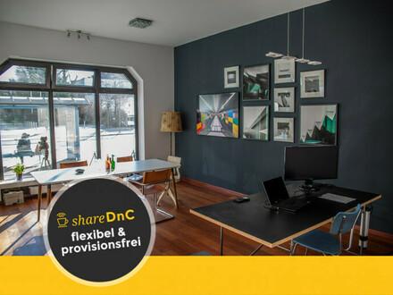 Arbeitsplatz in einem Ladenbüro in kreativer Gemeinschaft - All-in-Miete