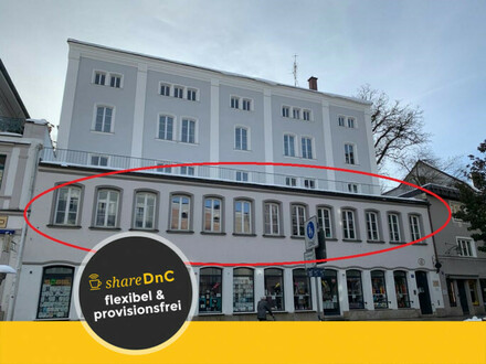 Büroetage im Herzen der Passauer Altstadt - All-in-Miete