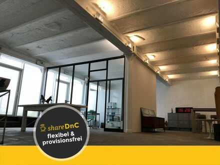 2 Schreibtische in denkmalgeschützter Fabrik zu vermieten - All-in-Miete