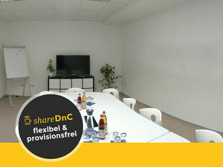 Coworking Plätze in hellem Büroraum in der Baunataler Innenstadt - All-in-Miete