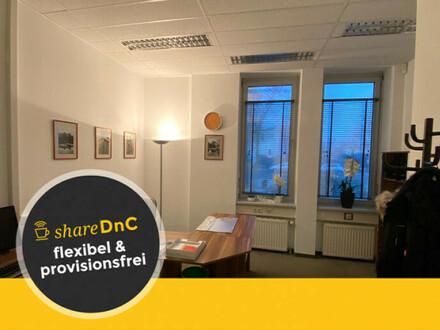 Möbliertes, abschließbares Büro in Zentrumsnähe - All-in-Miete