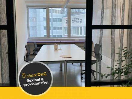 Co-Working Plätze und Team Office im Industrie Loft - All-in-Miete