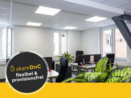 Büro Räume im Gemeinschaftsbüro zu vermieten - All-in-Miete