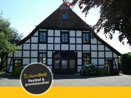 Büroraum in schönem Fachwerkhaus in Bremen Hemelingen mieten - All-in-Miete