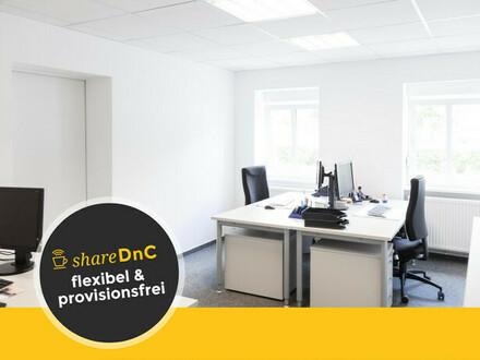 Heller topausgestatteter Büroraum oder Schreibtischplätze - All-in-Miete