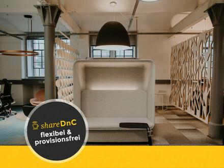 Großzügig gestaltete Arbeitsplätze in historischem Backsteinbau - All-in-Miete