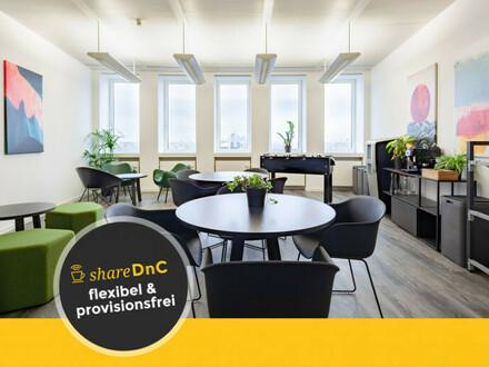 Flexible Arbeitsplätze und Büros mit Skylineview - All-in-Miete