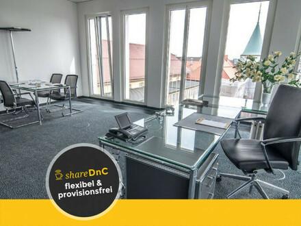 Flexible Büroräume in sehr begehrter und renommierter Umgebung - All-in-Miete