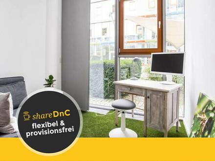 Co-Working-Plätze in kreativem Umfeld mitten in der Messestadt Riem - All-in-Miete
