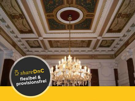 Arbeitsplätze in unserem schönen großen Altbaubüro im 7 Bezirk in Wien - All-in-Miete