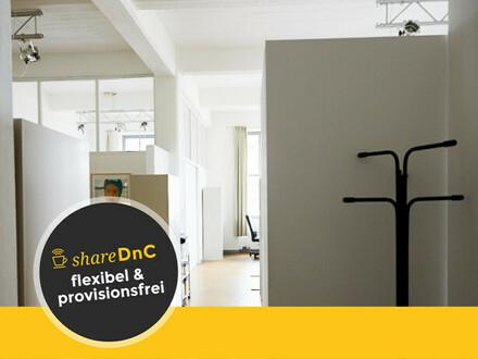 Schöner Raum im Loftbüro in Sülz - All-in-Miete
