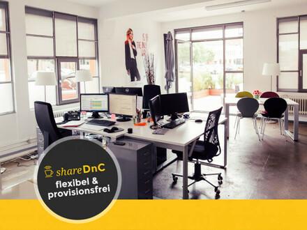Büros und Arbeitsplätze in bunter Bürogemeinschaft - All-in-Miete