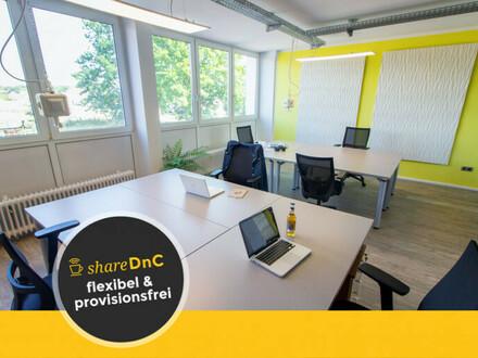 Büro-Arbeitsplatz im Coworking Space / Bürogemeinschaft - All-in-Miete