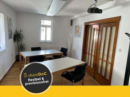 Möblierter Büroraum in Fachwerkhaus - All-in-Miete