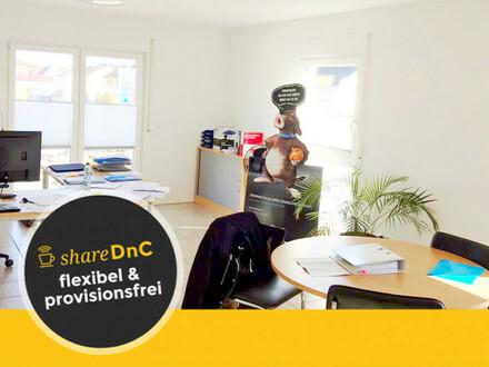 Abschließbare Bürofläche mit drei Büroräumen - All-in-Miete