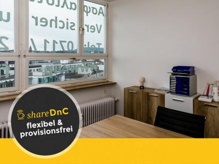 Büroraum mit schöner Aussicht über Bad Cannstatt - All-in-Miete