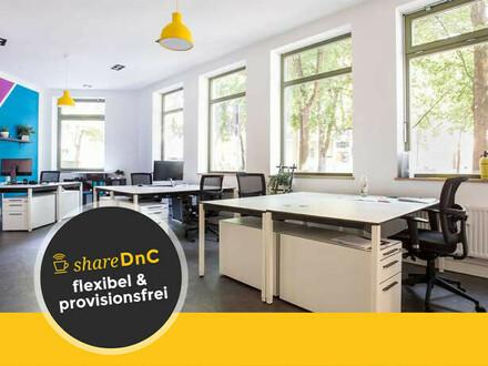 Arbeitsplätze im Design Office, Nähe Flaucher - All-in-Miete