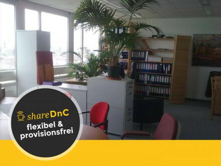 Büroräume unterschiedlicher Größe mit Blick über Frankfurt - All-in-Miete