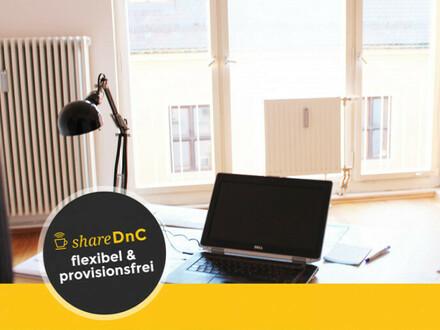 Moritzplatz: Flexible und ruhige Coworkingplätze - All-in-Miete