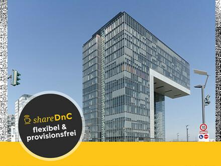 Renommierte Büroräume und Arbeitsplätze im Kölner Rheinauhafen - All-in-Miete