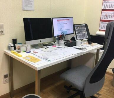 1A Schreibtischplatz, zentral, komfortabel und lichtdurchflutet - All-in-Miete