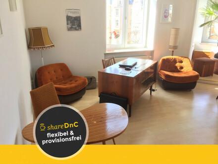 Büroräume und Arbeitsplätze in einem schönen Altbaubüro - All-in-Miete