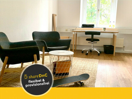 Büroräume in repräsentativem Gemeinschaftsbüro - All-in-Miete