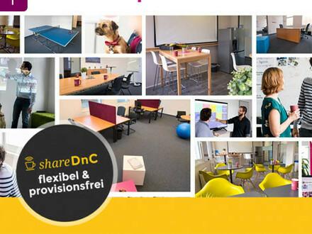 Freie Büroflächen und feste oder flexible Arbeitsplätze - All-in-Miete