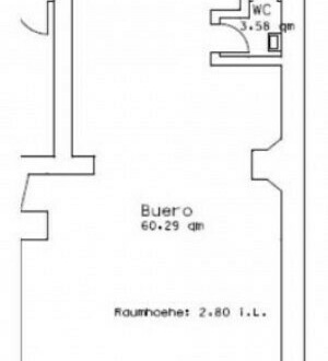 Büro in Essener Innenstadt - All-in-Miete
