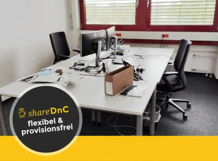 Perfekt ausgestattete Büroräume in Neckarstadt-Ost - All-in-Miete